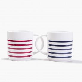 Lot de 2 Mugs 100% marin