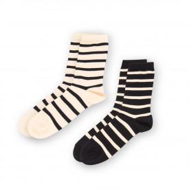 Lot chaussettes rayées