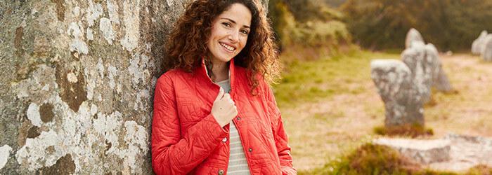 Women's Jacket, Pea & Vest
