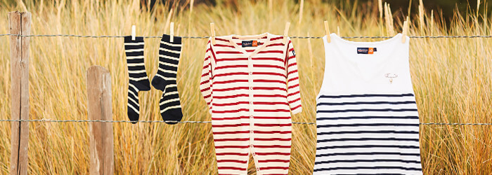 Vêtements marins pour bébé