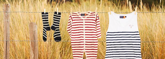 Destockage de vêtements marins pour enfant