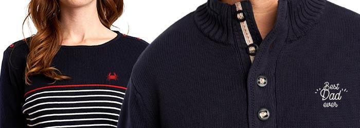 Pull et pulls marins personnalisables en broderie