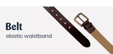 Elastic belt for men all'océan