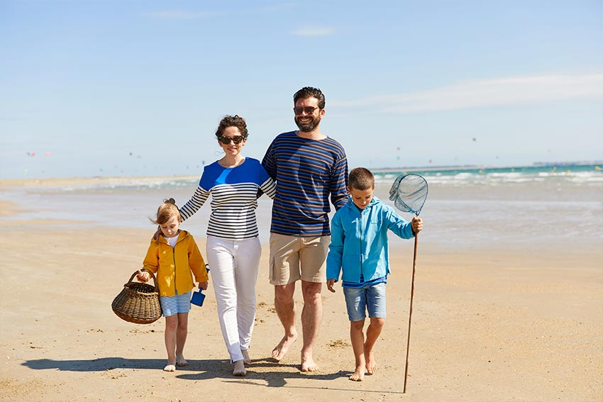 Des collections de vêtements marins pour toute la famille
