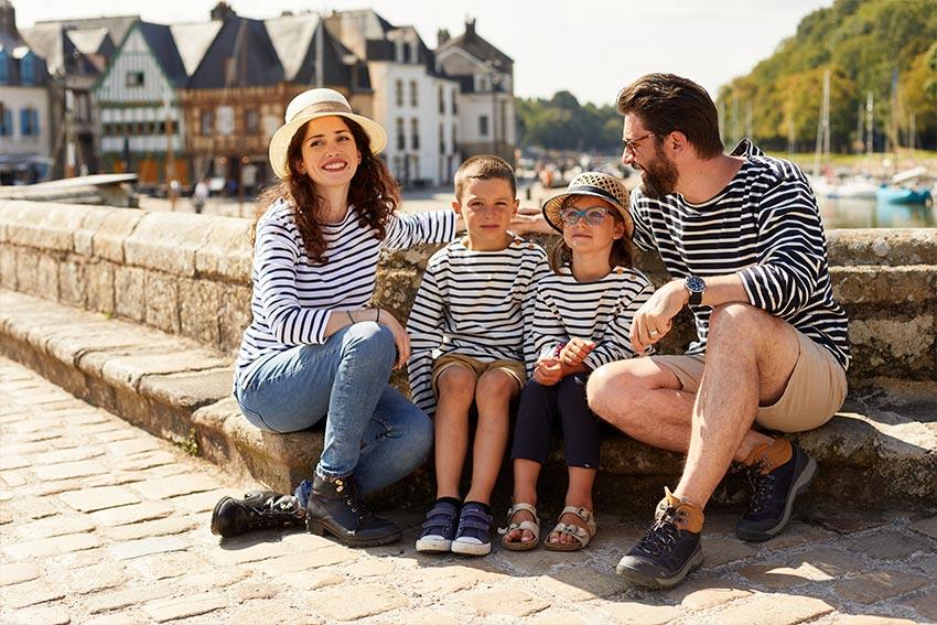 Des vêtements marins classiques et intemporels par All'Océan