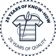 25 years of know-how and quality marine clothes