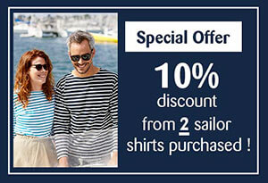 Special offer sailor shirt all'Océan