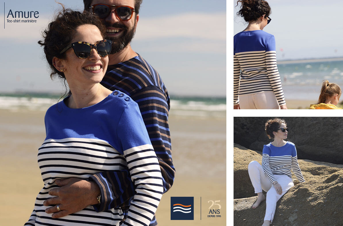 Look wooman sailor shirt