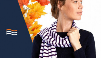 Autumn Gift: Your sailor scarf!